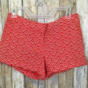 Candie's Juniors Patterned Red White Shorts